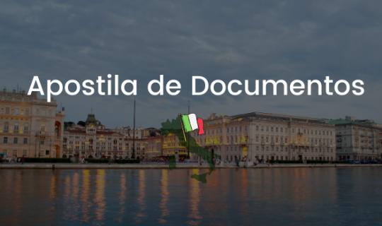 Apostila de Documentos para Processo de Cidadania Italiana