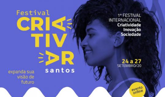 Festival Internacional Santista de Criatividade conta com apoio da 4Doc