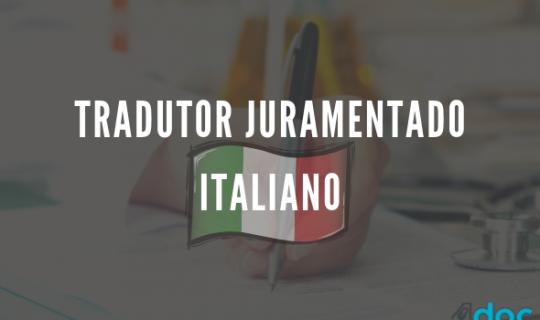 Tradutor Juramentado Italiano: escolha o melhor