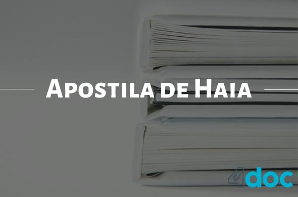 O que é Apostila de Haia: os cartórios mais baratos do Brasil